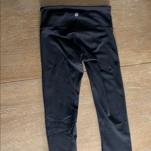 lululemon athletica Pants - Lululemon size 2 full-length black legging